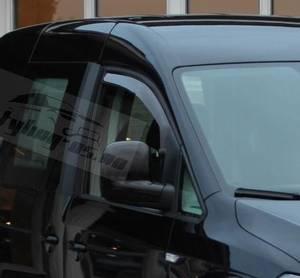 Bilde av VW Caddy Vindavvisere 2 stk. In-Channel montering